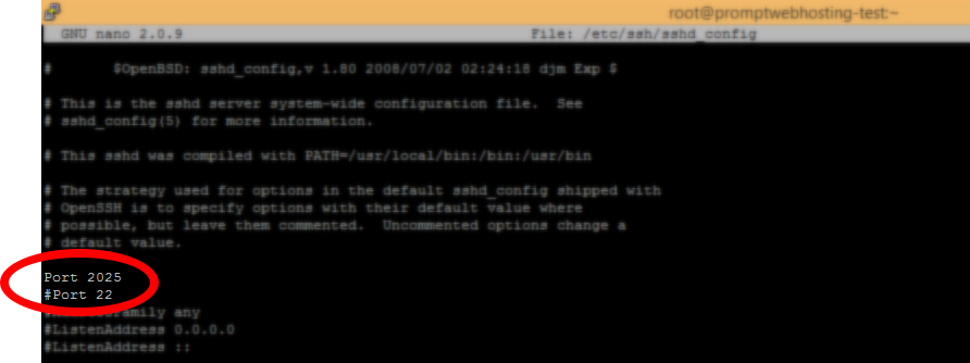 How to change default SSH port – CentOS
